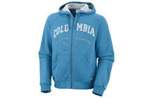 COLUMBIA Men&#039;s Spring Lake Cobb Full Zip compass bleu blanc